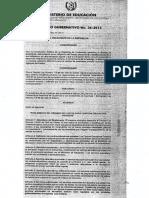 Acuerdos Gubernativos para el funcionamiento de Centros Educativos Privados.pdf