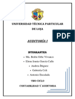 Informe Codigos de Etica AUDITORIA