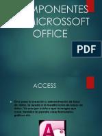 Componentes de Microssoft Office