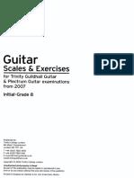 TRINITY - Guitar Scales Exercises 3