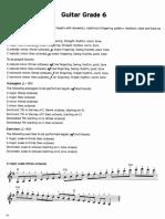 TRINITY - Guitar Scales Exercises 15