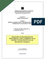 Diagrama de esfuerzos caracteristicos