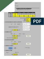 Diseño de Mezcla Metodo ACI 211