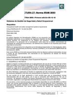 Norma IRAM 3800