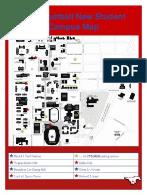 smu campus map
