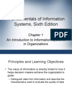 Fundamentals of Information