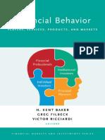 Financial Behavior Analyst