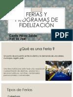 Ferias y Programas de Fidelizacion