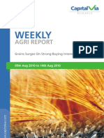 Agri Commodity Reports for the Week