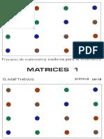 Matthews, G.- Matrices 1