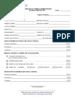 Formulario para licenciatura en Humanidades USAC