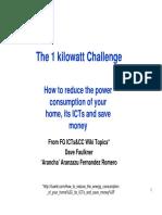 1 Kilowatt Chalenge