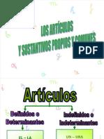 Gramatica Sustantivos Propios y Comunes Tercero