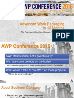 AWP in 12 Months External