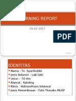 Morning Report TB PARU AKTIF