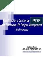 Planificacion y Control de Proyectos Con