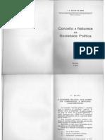 Jose Pedro Galvao de Sousa - Conceito e Natureza Da Sociedade Politica