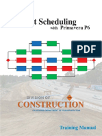 Project Scheduling With Primavera P6 Tra