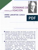 Los Programas de Investigación - Imre Lakatos