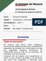 UNIDAD I Introducción Economía Ambiental