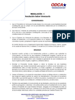 Oganización Democráta Cristiana de América califica como antidemocrática la Constituyente de Maduro