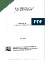 PANDUAN PERENCANAAN BEND URUGAN VOL 2. ANALISIS HIDROLOGI.pdf