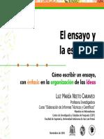 Presentación didáctica-EscribirEnsayo