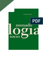 TARDE Gabriel. Monadologia e Sociologia
