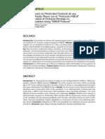 Caracterización en Motricidad Orofacial en pacientes adultos mayores