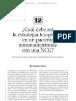 Estrategia terape¦üutica en un paciente inmunodeprimido con NCG