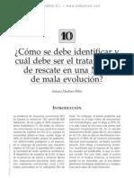 Identificacio¦ün y tto de rescate en una NCG de mala evolucio¦ün