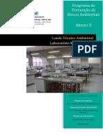 Laudo Técnico - Laboratório