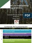 Entendiendo La Ley Forestal y de Fauna Silvestre