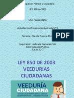 VEEDURIAS CIUDADANAS