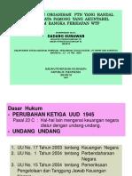 Membangun Organisasi PTN