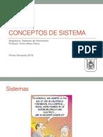 Conceptos de Sistema