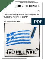 ConstitutionNet II Grigoriadis