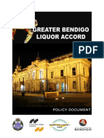 City of Greater Bendigo Liquor Accord Policy Document (5)