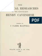 Cavendish Electrical Researches