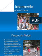 6. Niñez Intermedia
