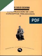 09.- Cosentino, J.C. (INCOMPLETO) Construcción de los conceptos freudianos II. Solo el Cap. 1. El concepto de pulsión. 14p.pdf
