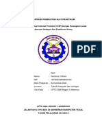 Laporan Pembuatan Alat Praktikum Voip