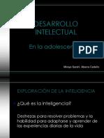 9. Desarrollo Intelectual
