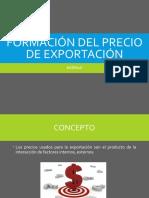 Formación Del Precio de Exportación