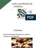 Concentración y Purificación de Proteínas