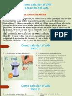 CLASE Como Calcular El VAN