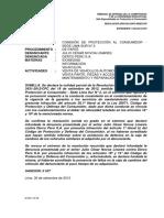 Resolución 2593-2013 Deber de Idoneidad
