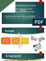 Aplicaciones de Google