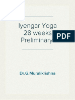 Iyengar Yoga in Kurnool by Dr.G.Muralikrishna