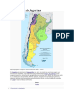 Fitogeografía de Argentina